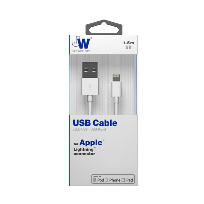 Just Wireless Lightning kabel 1,5m