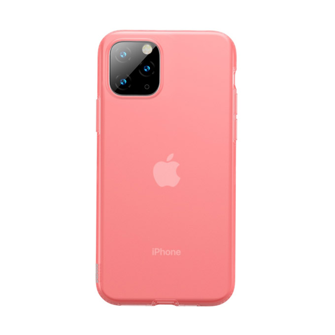 Baseus Jelly maska iPhone 11 Pro Max Roza