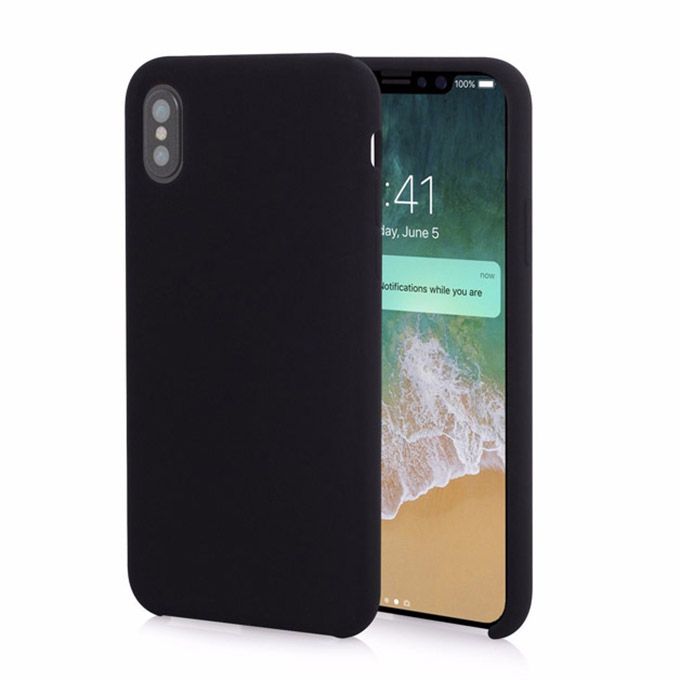 TOTU DESIGN Liquid Silicone iPhone XS Max